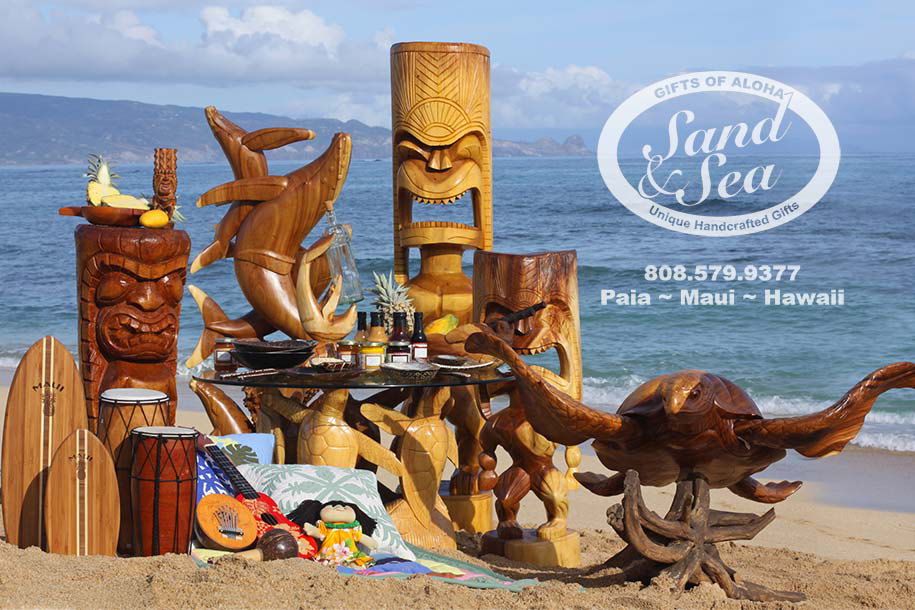 Sand & Sea Maui Gifts and Souvenirs Website Header Graphic